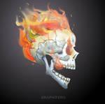 Fire skull by FERO-VARAM