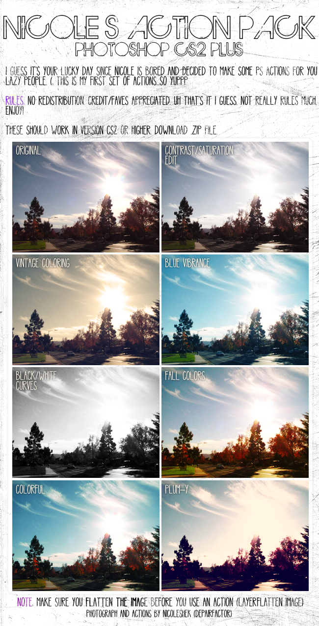 photography edit actions 1