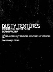 dusty textures