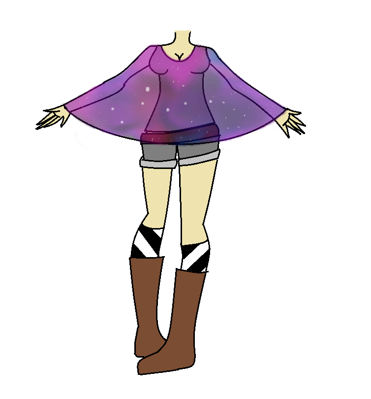 Adoptable outfit (Galaxy) ( SOLD!) by TheOperatorsShadow
