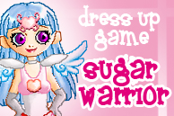 Sugar Warrior dress up game by degdie
