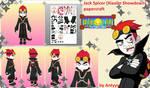 Jack (Xiaolin Showdown) FREE papercraft download
