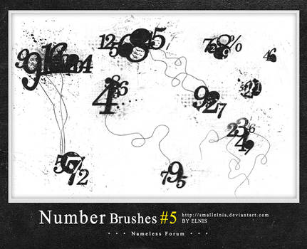 Number brushes #5