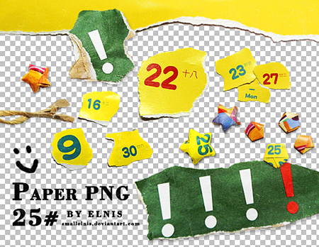 PAPER PNG#25 by smallElnis