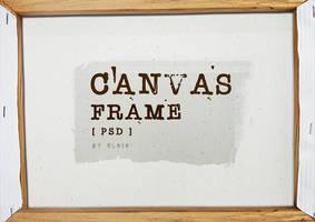 Canvas Frame PSD