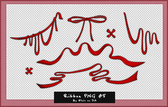 Ribbon PNG#8