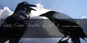 Larafairie-CrowRavenBrushesII