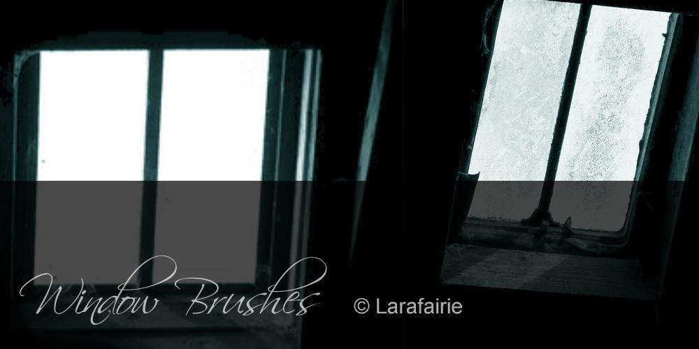 Larafairie-WindowBrushes by larafairie-stock