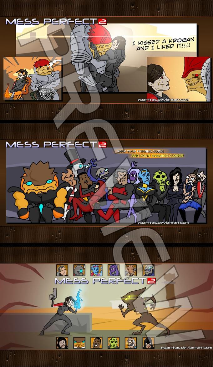 Mess Perfect 2 - wondrous wallpaper pack 1600x1200 by Epantiras