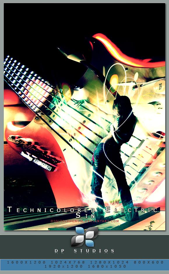 Technicolored Electric Sin