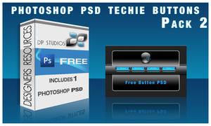 Techie Glass  Button PSD