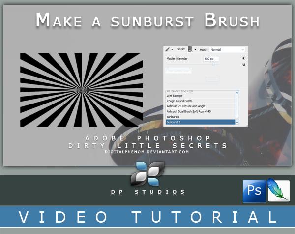 Make a Sunburst brush