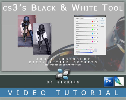 cs3's Black and White Tool