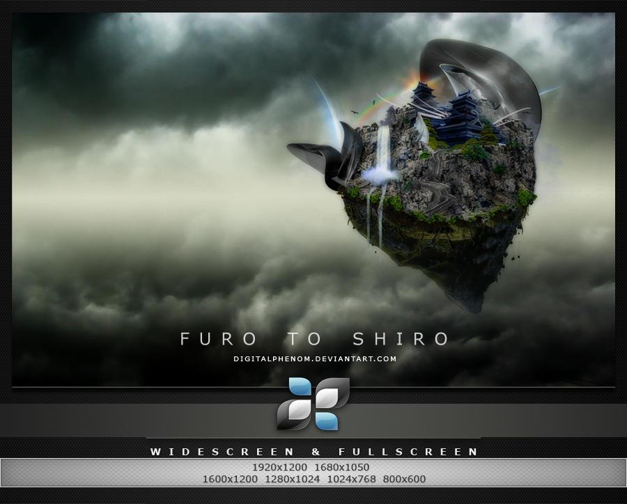Furo-to Shiro by DigitalPhenom