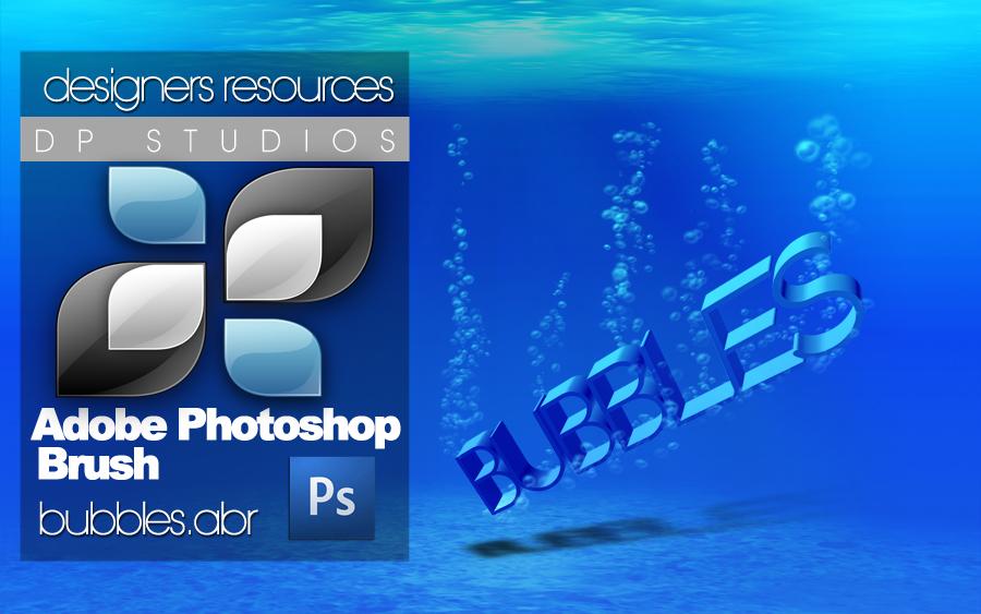 Photoshop Bubble Brush+PSD