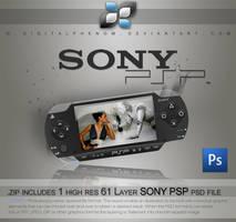 Sony PSP psd by DigitalPhenom