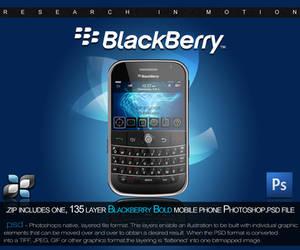 RIM Blackberry PSD by DigitalPhenom