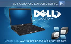 Dell Vostro psd by DigitalPhenom