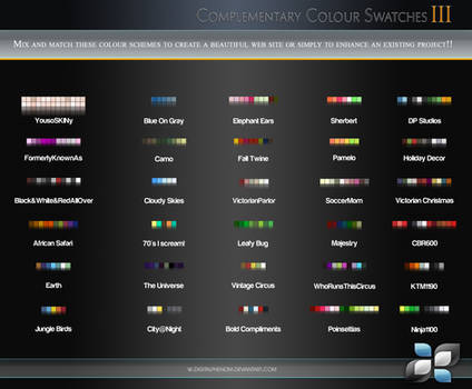 Complimentary Color Swatches 3