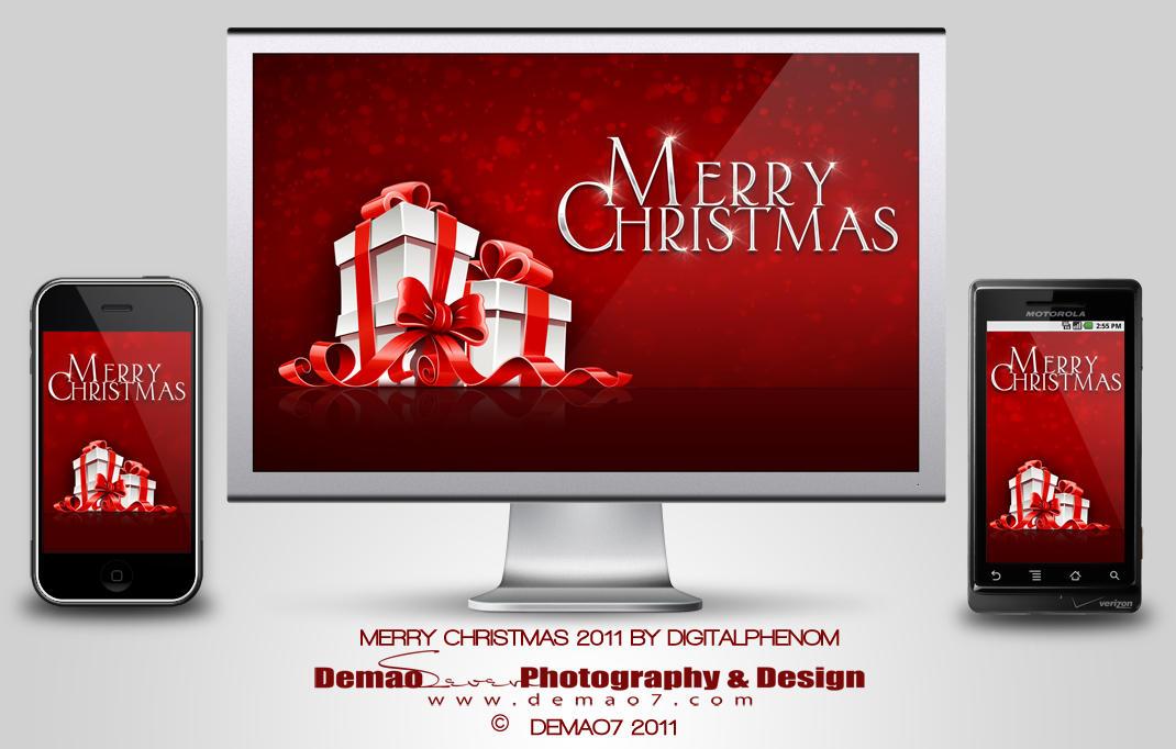 Merry Christmas 2011 by DigitalPhenom