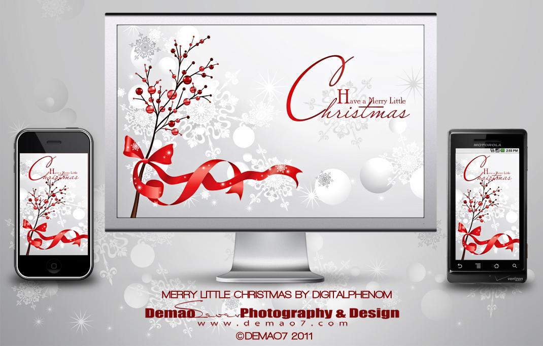 Merry Little Christmas by DigitalPhenom