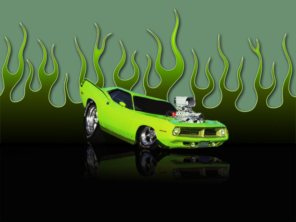 DP's 73' Plymouth Cuda WHIP by DigitalPhenom