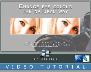Changing Eye Color Video Tut by DigitalPhenom