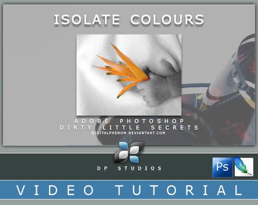 Isolate Colour Video Tut