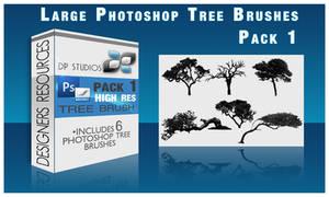 6 Photoshop Tree Brushes