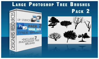 7 PS Tree Brushes by DigitalPhenom