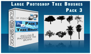 8 Photoshop tree Brushes v3