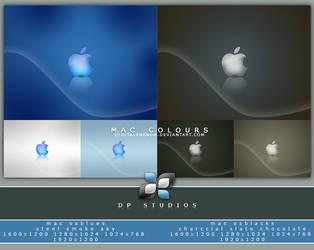 Mac Colours Blues n Darks by DigitalPhenom