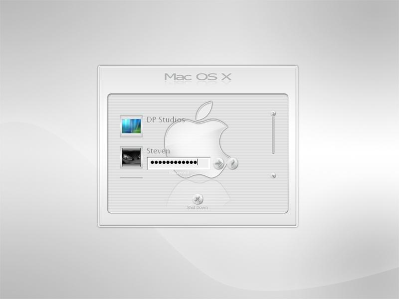 Mac OS Smoke White Logon by DigitalPhenom