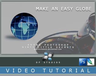 Globe Photoshop Video Tut by DigitalPhenom