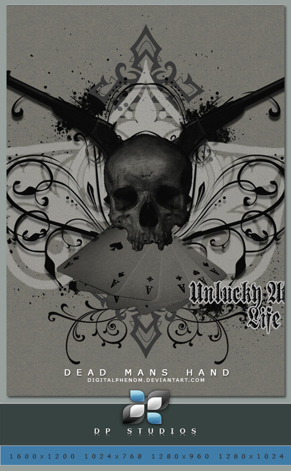 Dead Mans Hand Single Wide by DigitalPhenom