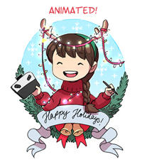 Happy Holidays (animated)