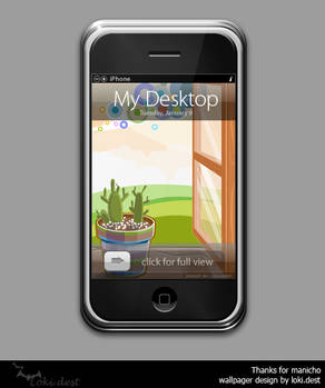 iphone wallpager - cacti