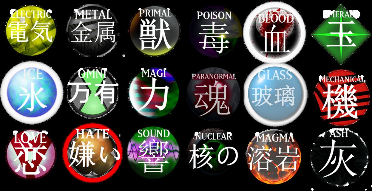 Yu-Gi-Oh! Custom Attributes (ZIP) by GraysoGoodwn