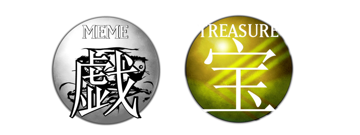Meme and Treasure Attribute by GraysoGoodwn