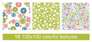 16 100x100 colorful scrapbook