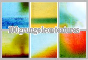 100 grungy icon textures