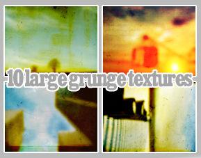 10 big grunge textures