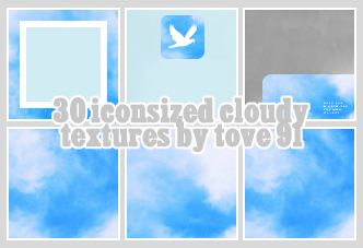 35 100x100 cloudy textures by Tove91
