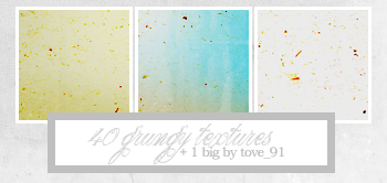 40 100x100 grungy textures by Tove91
