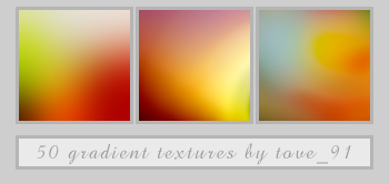 50 icon gradient textures by Tove91