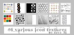 46 various icon textures