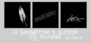 22 big text + scribble texture
