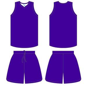 Basketball Uniform Template 1