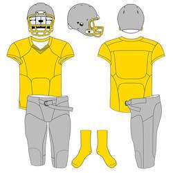 Football Uniform Template 2
