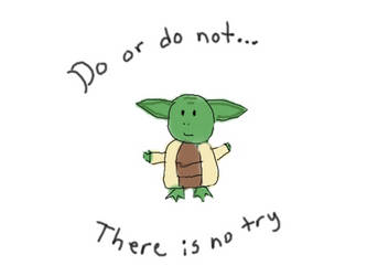 Testing out the tablet-Yoda by ShadowNighthunter